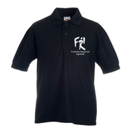 Kinder Polo-Shirt (schwarz)