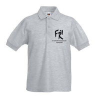 Kinder Polo-Shirt (graumeliert)