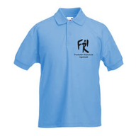 Kinder Polo-Shirt (pastellblau)