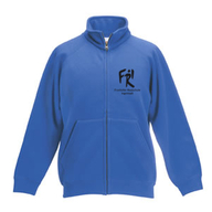 Kinder Sweatjacke (royal)