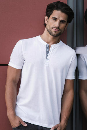 Men`s Henley HD T