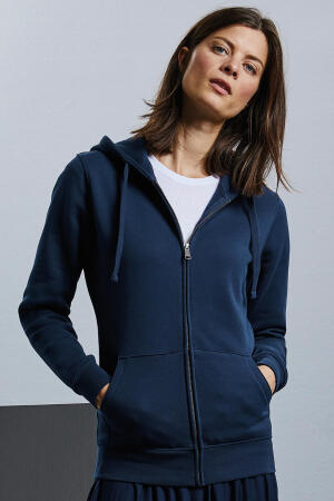 Ladies` Authentic Zipped Hood