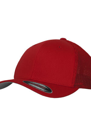 Mesh Cotton Twill Trucker Cap