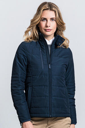 Ladies` Cross Jacket