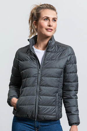Ladies` Hooded Nano Jacket