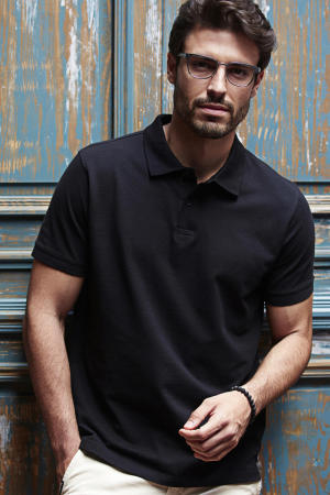 Mens Heavy Polo Piqué
