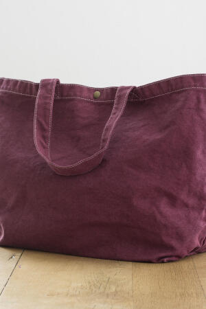 Large Canvas Shopper