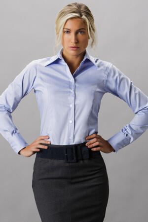 Ladies Corporate Oxford Bluse LA