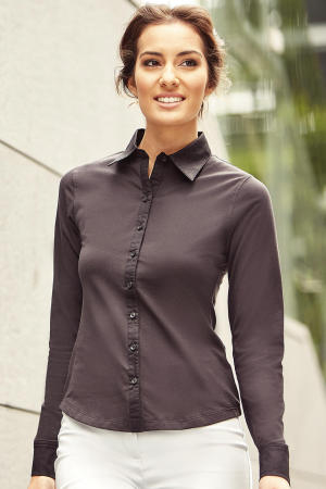 Long Sleeve Shirt Stretch Top