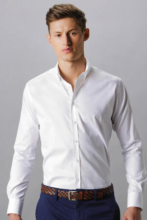 Slim Fit Stretch Oxford Shirt LS