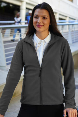 Ladies` Micro Full Zip Fleece