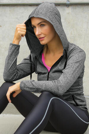 Women`s Hooded Tee-Jacket