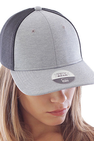 Stretch-Fit - Mid Visor Cap