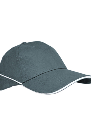 Cap White-Stripe