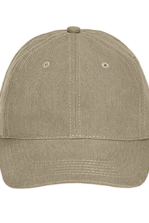 Pigment Dyed Canvas Baseball Cap