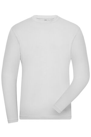 Men's BIO Stretch-Longsleeve Work - SOLID -