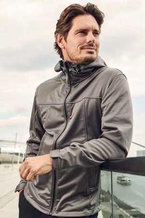 Men's Hoody Softshell Jacket