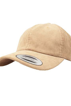Low Profile Corduroy Dad Cap