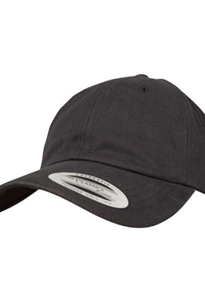Peached Cotton Twill Dad Cap