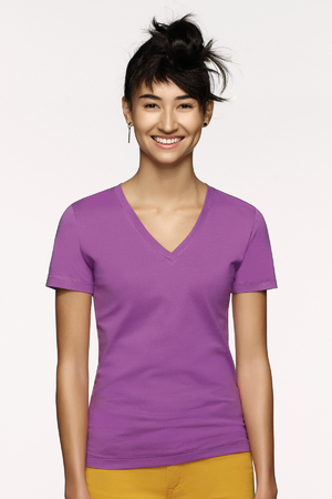 Damen-V-Shirt Classic