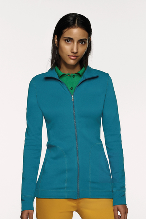 Damen-Interlockjacke