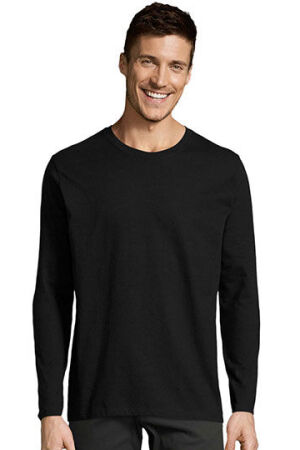 Mens Long-Sleeve T-Shirt Imperial