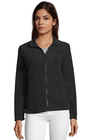 Womens Plain Fleece Jacket Norman