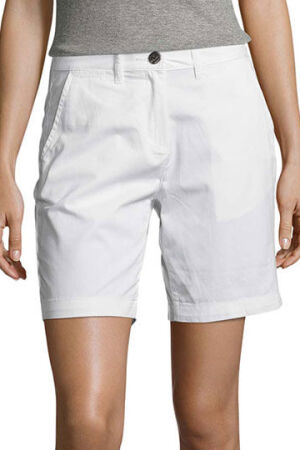 Womens Chino Bermuda Shorts Jasper