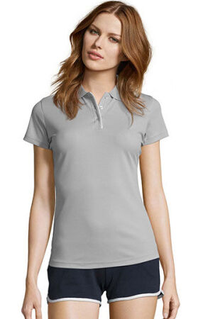 Womens Sports Polo Shirt Performer