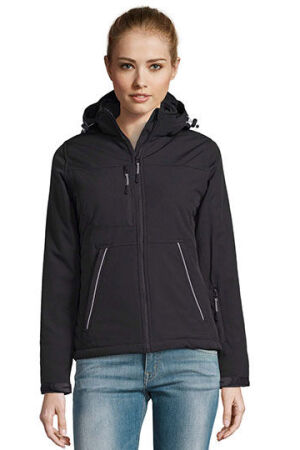 Rock Women Padded Winter Softshell