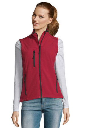 Womens Short Sleeve Softshell Rallye