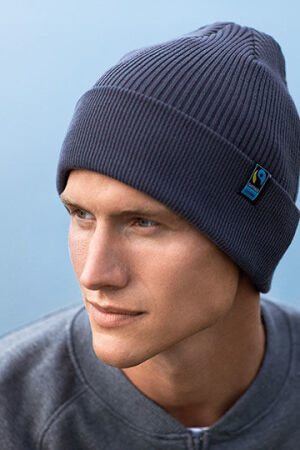 Mixed Knit Beanie