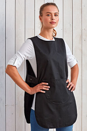 Womens Long Pocket Tabard