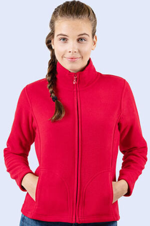 Ladies Full Zip Fleece Jacket