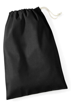 Cotton Stuff Bag black M